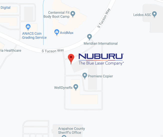 Nuburu Location Map Image