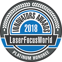 Laser Focus World Innovators Awards Logo 2018